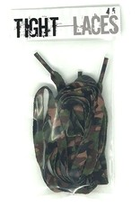 """Tight Laces Tight Laces Flat 45"""" - Camouflage Green"""