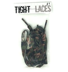 "Tight Laces Tight Laces Flat 45"" - Camouflage Green"