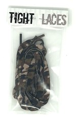 "Tight Laces Tight Laces Flat 45"" - Camouflage Brown"