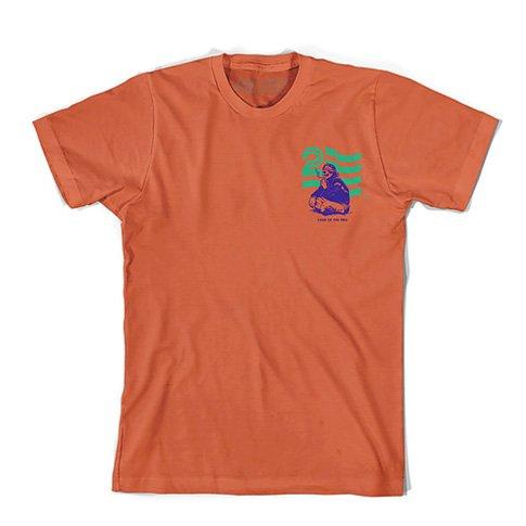 Politic Politic Native T-shirt - Orange (size Large)