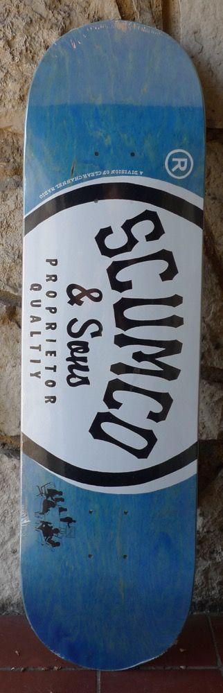 Scumco & Sons Scumco & Sons Logo (C Medium) Deck - 8.375