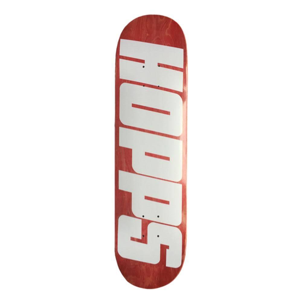 Hopps Hopps BIG HOPPS Deck (Purple Stain) - 8.125