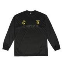 Chrystie NYC Chrystie NYC CSC Longsleeve Soccer Jersey - Black/Yellow