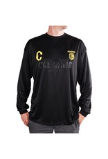 Chrystie NYC Chrystie NYC CSC Longsleeve Soccer Jersey - Black/Yellow (size Medium)