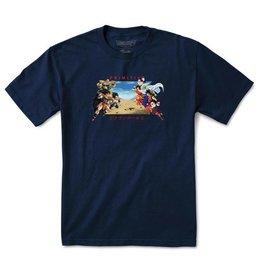 Primitive Primitive x Dragon Ball Z Battle T-shirt - Navy (size Medium or Large)