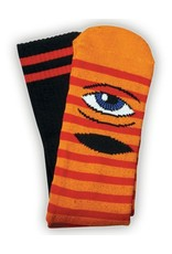 Toy Machine Toy Machine Sect Eye Stripe Orange/Red Socks