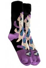 Toy Machine Toy Machine Barf Sect Multi Purple Socks