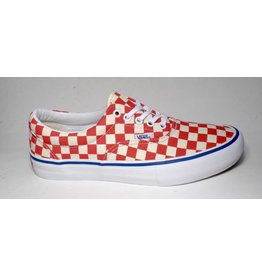 Vans Vans Era Pro (Checkerboard) - Rococco Red/Classic White (size 9, 10.5 or 11)