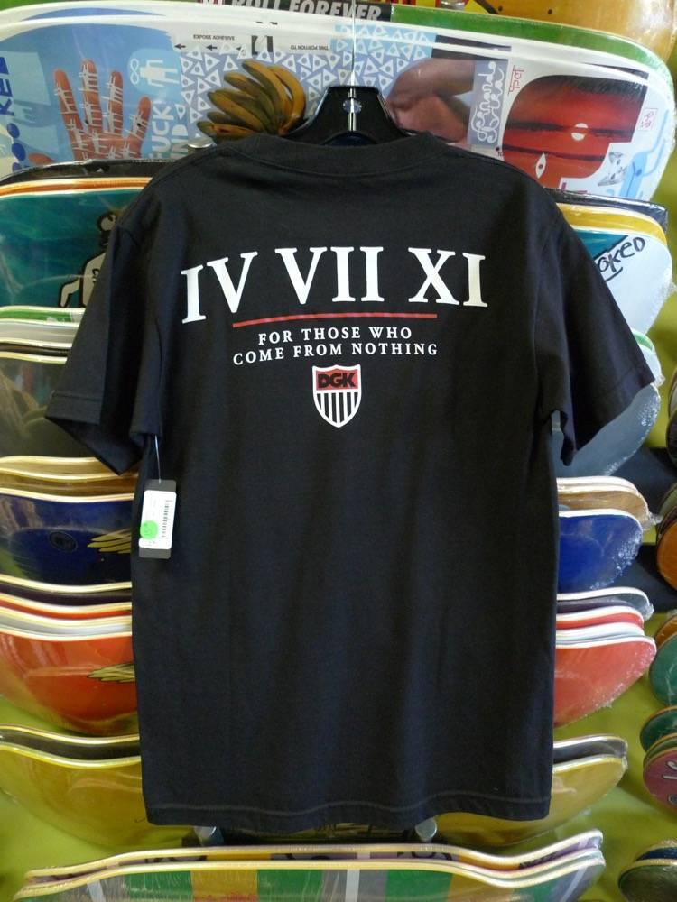 DGK DGK T-shirt - Black (size Small)