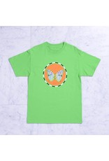 Quasi Quasi Moth T-shirt - Lime (size Large or X-Large)
