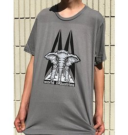 Prime Prime Mike Vallely Elephant on the Edge T-shirt - Grey (size Medium or Large)