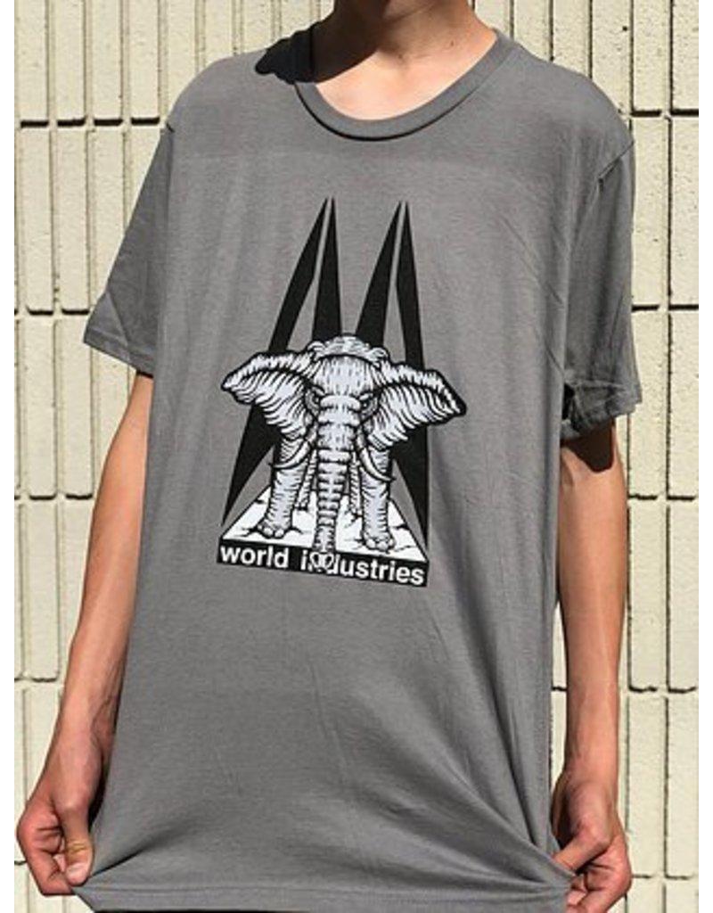 Prime Prime Mike Vallely Elephant on the Edge T-shirt - Grey (size Medium)