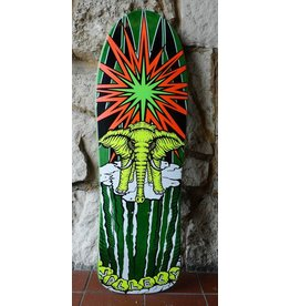 Prime Prime Mike Vallely Elephant on the Edge World Industries re-issue Deck -(Green) 9.75 x 30.75
