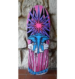 Prime Prime Mike Vallely Elephant on the Edge World Industries re-issue Deck -(Pink) 9.75 x 30.75