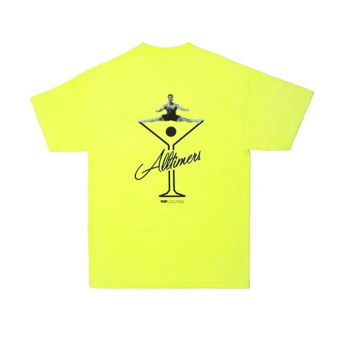 Alltimers Alltimers Splits T-shirt - Safety Green (size Large)