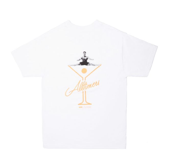 Alltimers Alltimers Splits T-shirt - White (size X-Large)
