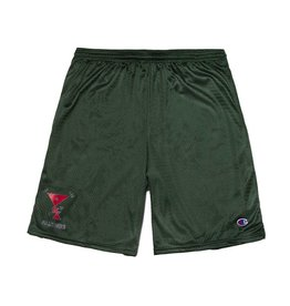 Alltimers Alltimers Action Logo Mesh Shorts - Dark Green