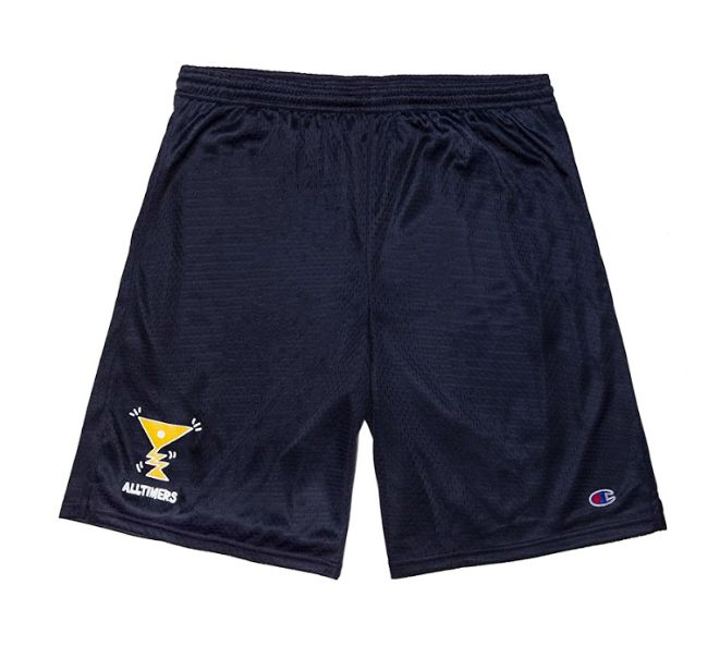 Alltimers Alltimers Action Logo Mesh Shorts - Surf the Web (size Large)