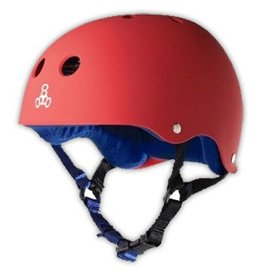 Triple 8 Triple 8 Brainsaver Helmet - United Red