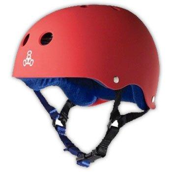 Triple 8 Triple 8 Brainsaver Helmet - United Red