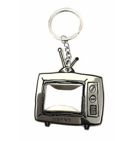 WKND brand WKND TV Logo Keychain - silver