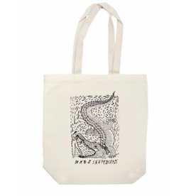 WKND brand WKND Alligator Tote Bag - Natural