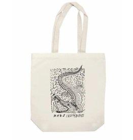 WKND brand WKND Alligator Tote Bag - Natural
