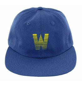 WKND brand WKND Gradient W 6 panel Hat - Royal