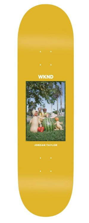 WKND brand WKND Doll Parts Fruit Family Jordan Taylor Deck - 8.1