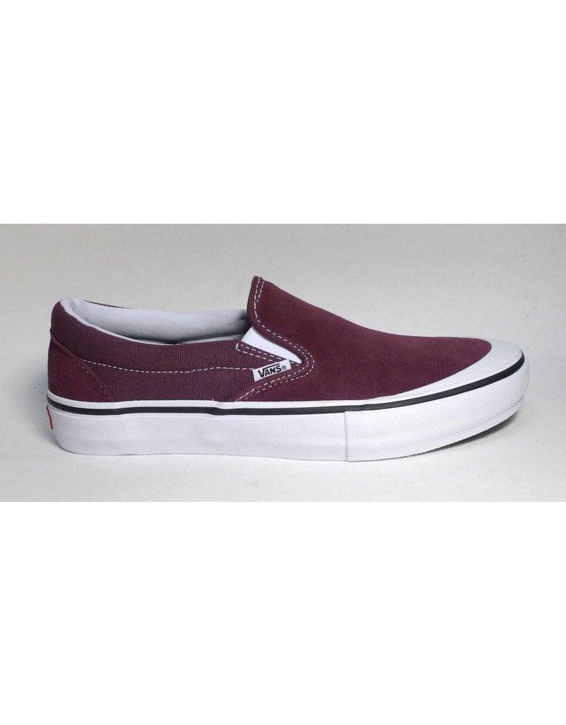 Vans Vans Slip On Pro -  Raisin/Whte (size 10.5, 11.5 or 12)