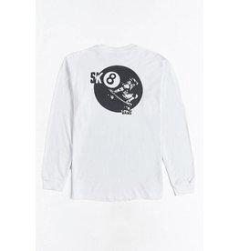 Vans Vans Sk8 Ball Longsleeve T-shirt - White