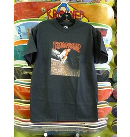 Thrasher Mag Thrasher China Banks T-shirt - Black (size X-Large)
