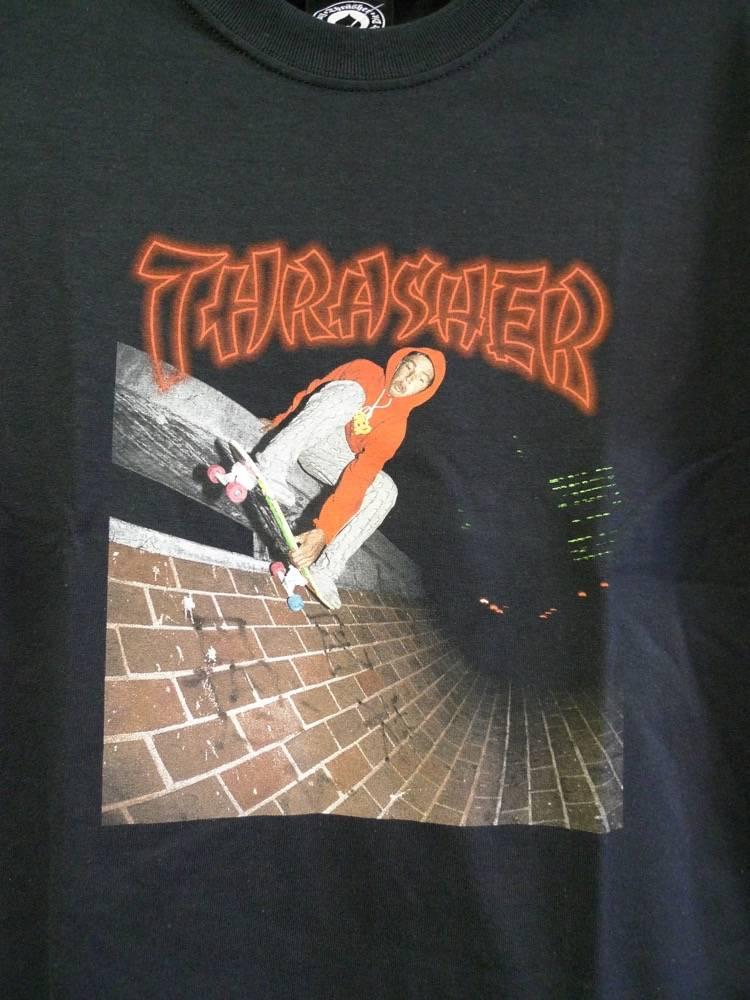 Thrasher Mag Thrasher China Banks T-shirt - Black
