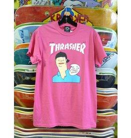 7d1f6e0fb432 Thrasher Mag Thrasher Gonz Cover T-shirt - Pink (Size Medium)
