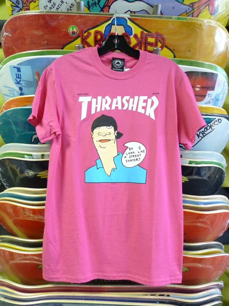Thrasher Mag Thrasher Gonz Cover T-shirt - Pink (Size Medium)