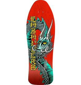 Powell Powell Peralta Bones Brigade Cabellero Red Re-Issue Deck - 9.95 x 29.76 (10th series)