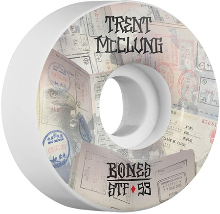 Bones Wheels Bones STF MucClung Passport V1 53mm Wheels (set of 4)