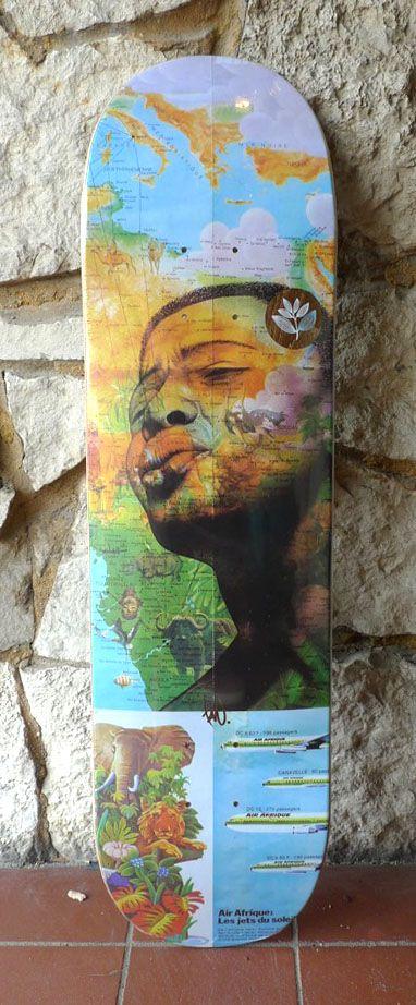 Magenta Magenta Tavu Guest Artist Deck - 8.25