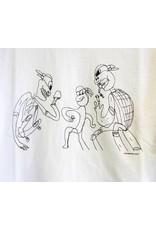 GX1000 GX1000 3some T-shirt - White