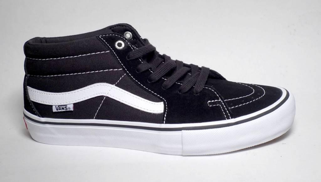 Vans Sk8-Mid Pro - Black/White