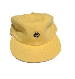 Magenta Magenta Plant 6 Panel Hat - Yellow