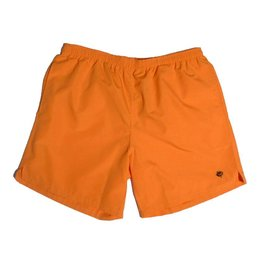 Magenta Magenta Plant Shorts - Orange
