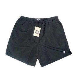Magenta Magenta Plant Shorts - Black