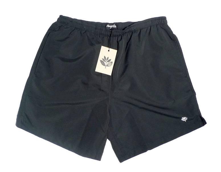 Magenta Magenta Plant Shorts - Black (size Small and Large)