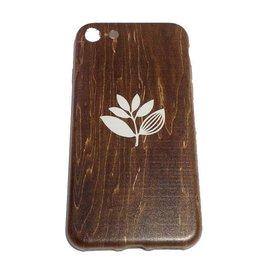 Magenta Magenta Plant Phone Case - Wood Iphone 7