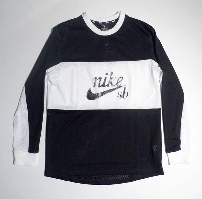 Nike SB Nike sb Dri Top XLM Mesh Top -  Black (size Small or Medium)