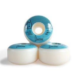 Dial Tone Wheel Co. Dial Tone Groove Standard 55mm 99a Wheels Blue (Set of 4)