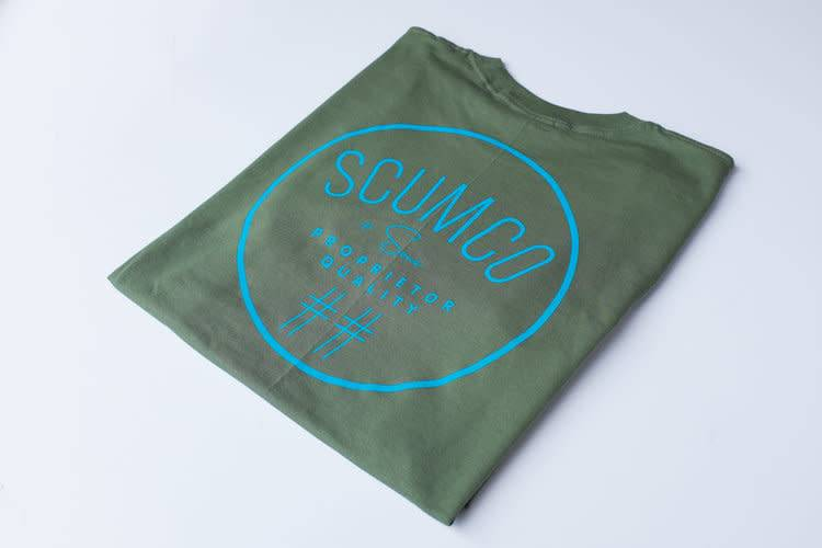 Scumco & Sons Scumco & Sons Nue Logo T-shirt - Olive Green