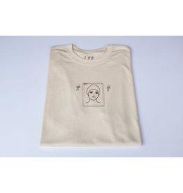 Scumco & Sons Scumco & Sons Step 1 T-shirt - Cream