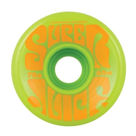OJ wheels OJ 60mm Super Juice Green 78a wheels (set of 4)